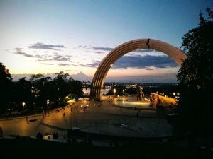 Kansojen ystävyyden kaari -monumentti Kiovassa.